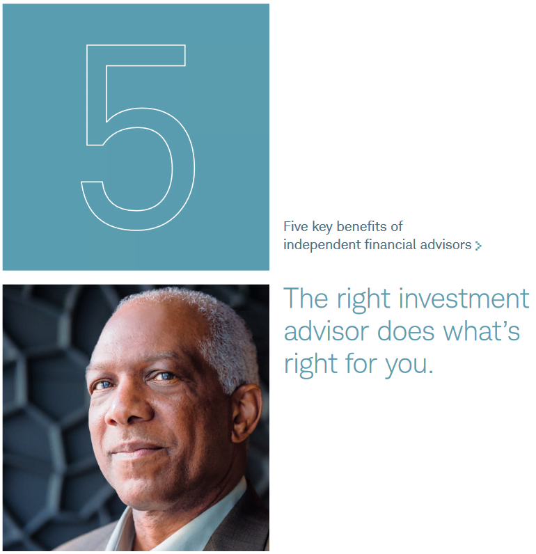 right investment advisors do whats right for you title page